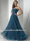 Cheap Organza Beauty Favor Formal Evening Dress Prom Gowns 2012