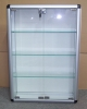 glass showcase, glass box, display case, exhibition glass case
