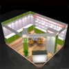square extrusion exhition booth, exhibition stand