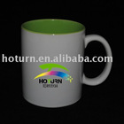 11OZ inner color photo sublimation mug