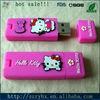 hottest rubber pvc usb flash drive