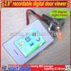 "2.8"" touch screen door viewer with recordable function"