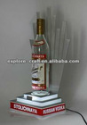 liquor bottle display with led