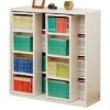 Project experience library bookcase