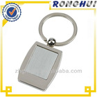 Custom squared photo frame and mirror Metal Key chain