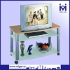 Glass Wooden tv stand MGR-9611