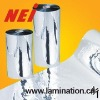 PET metalized glossy laminating film, supplying 22 to 250micron