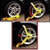 Steel Yellow Wheel Clamp