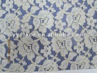 fashion deisgn cotton nylon embroidery lace fabric