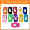 Silicon material soft penguin cases for galaxy siii i9300, different colors for choice