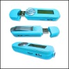 2012 fashion portable mp3 player with battery built-in loudspeaker
