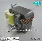 Air compressor nebulizer/Oxygen concentrator machine motor Shaded Pole Motor YJ62-30:120/220V,50/60hz Insulation CL.A/E/B/F/H
