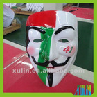 Wholesale New Design PVC Material UAE Flag V For Vendetta Mask For Sale/Hot Sale