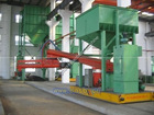 Sand processing machine