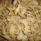 Dry ginger Dried Ginger Flakes Global Foods Dehydrated Ginger origin FOB price
