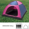 Outdoor camping four person tent for 4 person