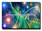 hot sale super HD 3d fridge magnets Statue of Liberty