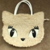 Plush cartoon design bag