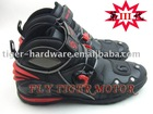 motorcycle boots Microfiber leather racing boots