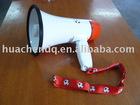 portable plastic music megaphone
