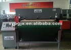 Automatic converyor feeding PLC hydraulic carpet cutting machinery
