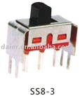 SMT type slide switch