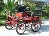 Marathon training horse carriage