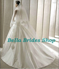 2013 Beautiful Best Price Bridal Veil Embroidered Lace Trim