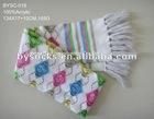fashion checks acrylic scarf for women