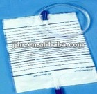 Hospital plastic steriled disposable urine bag