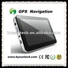 5 inch GPS with EU IGO Map