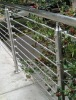 stainless steel stair handrail and balustrade