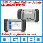 DS-708 scanner update via internet full package original MaxiDAS DS708 Autel auto diagnostic system for car ds708