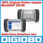 DS-708 scanner update via internet full package original MaxiDAS DS708 Autel auto diagnostic system for car ds708