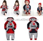 2designs you can choose, Long sleeve romper, baby's romper, boy's romper, girl's romper,