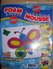 Colorful butterflie foam sticker