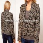 Premium Floral Print Long Sleeves Life Jacket