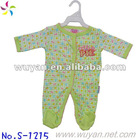 100% cotton baby romper