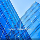 4mm to 19mm(Clear,Tinted,Reflective,Laminated,Tempered,Patterned)Curtain Wall Glass
