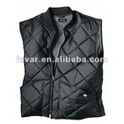 228T shell polyester insulation vest ropa de lienzo Carhartt Style Work Down Vest For Man