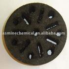 charcoal briquette black