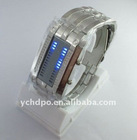2011 LED glisten fashion LED watch