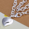 hot double hearts coarse cheap necklace Jewelry fashion