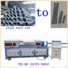 hydraulic steel wire rod straightening and cut-off machine tools supplier tel:86 13137429010