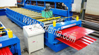 Colored steel double sheet tile forming machine XF1075/1116