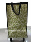 Oxford fabric shopping bag with wheels