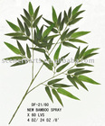 GREEN ARTIFICIAL NEW BAMBOO LEAVES X 60 LVS