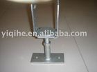 adjustable post anchor bolt wiyh lip