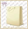 Milk white paper bag