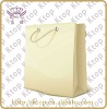 Milk white paper bag